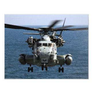CH-53E 4.25X5.5 PAPER INVITATION CARD
