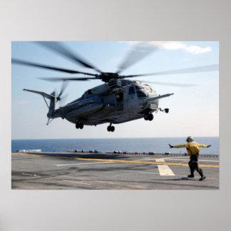 CH-53E Sea Stallion Poster