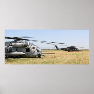 CH-53E Super Stallions Poster