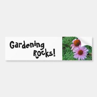CH- Gardening Rocks Bumper Sticker