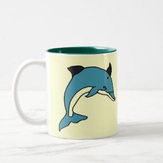 CH- Leaping Dolphin Mug