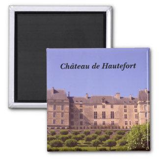 Ch�teau de Hautefort - Imán Cuadrado
