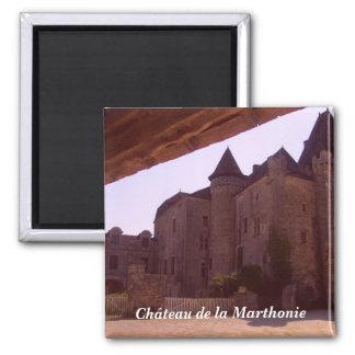 Ch�teau de la Marthonie - Imán Cuadrado