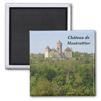 Ch�teau de Montrottier - Imán Cuadrado