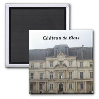 Ch�teau of Blois - 2 Inch Square Magnet