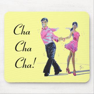 Cha Cha Cha Ballroom Dancing Mouse Pad