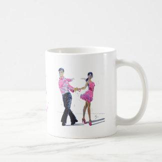 Cha Cha Cha Ballroom Dancing Mug