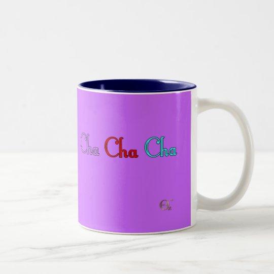 Cha Cha Cha Two-Tone Coffee Mug