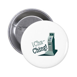 Cha-Ching 2 Inch Round Button