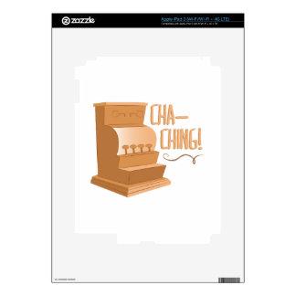Cha Ching iPad 3 Pegatinas Skins
