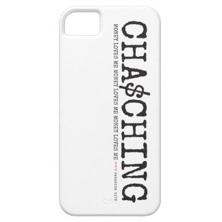 Cha Ching Money Loves Me iPhone SE/5/5s Case