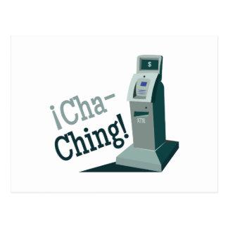 Cha-Ching Postcard
