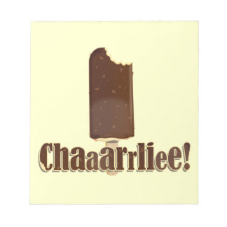 Chaaarrliee! Memo Note Pads