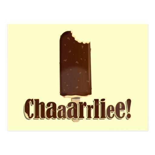 Chaaarrliee! Postcard