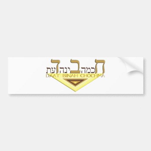 Chabad Pegatina De Parachoque