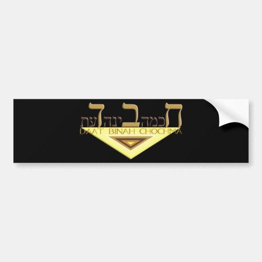 Chabad Etiqueta De Parachoque