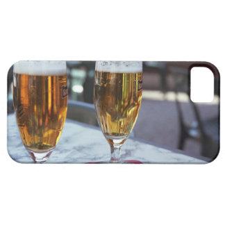 Chablis; dos cervezas frescas en 42 grados de iPhone 5 fundas