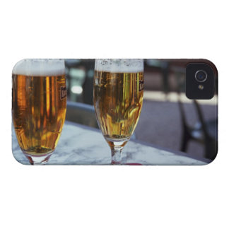Chablis; two cool beers at 42 degrees hot summer iPhone 4 Case-Mate case