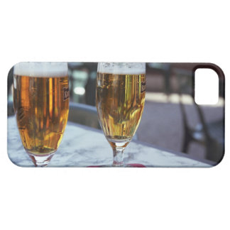 Chablis; two cool beers at 42 degrees hot summer iPhone SE/5/5s case