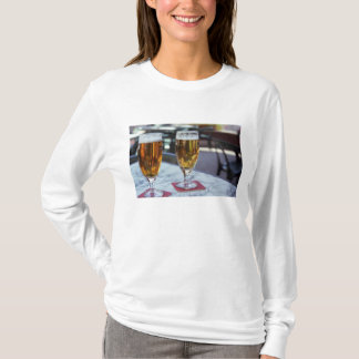 Chablis; two cool beers at 42 degrees hot summer T-Shirt