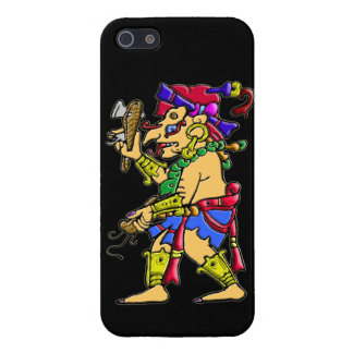 Chac mayan rain god colorful digital image cover for iPhone SE/5/5s