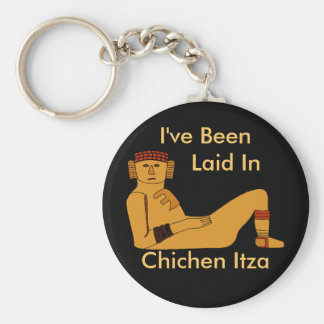 Chac-mool chacmool Laid Back Designs any Text Keychain