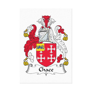 Chace Family Crest Canvas Prints