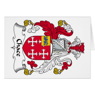 Chace Family Crest Cards