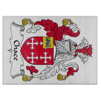 Chace Family Crest Cutting Board