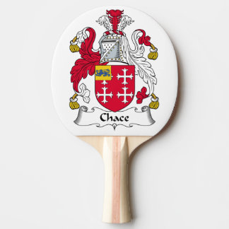 Chace Family Crest Ping-Pong Paddle
