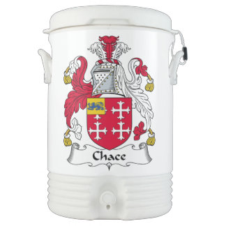 Chace Family Crest Igloo Beverage Dispenser