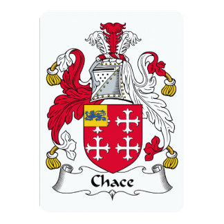 Chace Family Crest Card