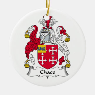Chace Family Crest Ornament