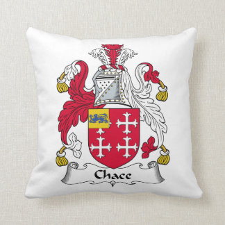 Chace Family Crest Throw Pillows