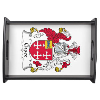 Chace Family Crest Food Trays
