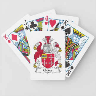 Chace Family Crest Bicycle Poker Cards