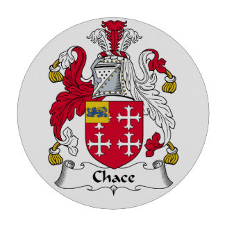 Chace Family Crest Poker Chips Set