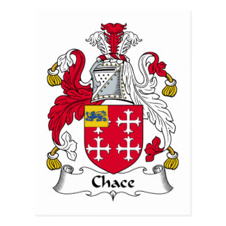 Chace Family Crest Post Card