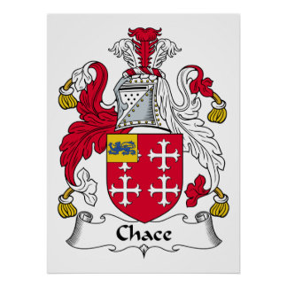 Chace Family Crest Posters