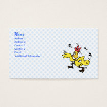 ChaChaCha Chicken Business Card