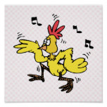 ChaChaCha Chicken Poster