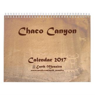 Chaco Canyon 2017 Calendar