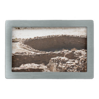 Chaco Canyon New Mexico Rectangular Belt Buckle