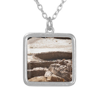 Chaco Canyon New Mexico Silver Plated Necklace