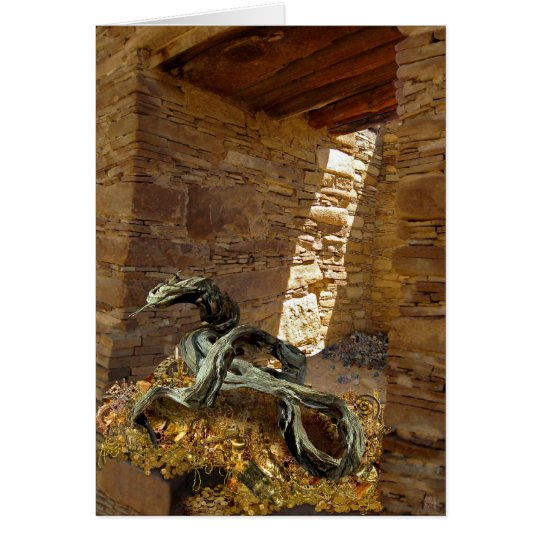 Chaco Dragon's Hoard (no frame) Card