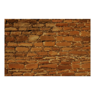 Chaco Wall Pattern poster