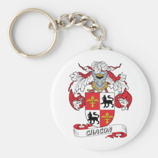 Chacon Family Crest Keychain
