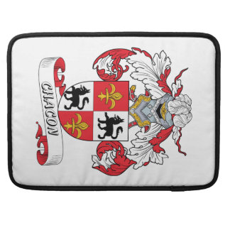 Chacon Family Crest Sleeve For MacBooks