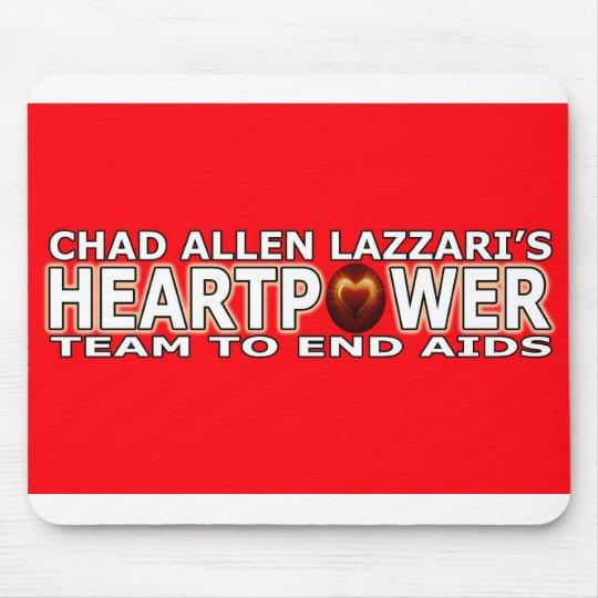 Chad Allen Lazzari Heartpower Mouse Pad