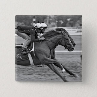 Chad Brown Duo Workouts at Saratoga Pinback Button